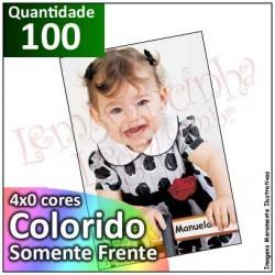 100 Imãs 10x15 cm (Foto) Personalizados para Geladeira ou Painel de Metal