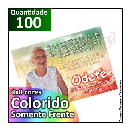100 Imãs 10x7 cm Personalizados para Geladeira ou Painel de Metal