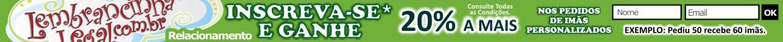 Ganhe +20% no pedidos de imãs personalizados.Válido por tempo indeterminado.Consulte as regras/condições.